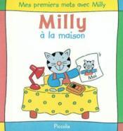 Mes premiers mots avec milly / a la maison - Couverture - Format classique
