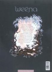 Weëna t.3 ; résurgence - 4ème de couverture - Format classique