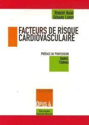 Facteurs de risque cardiovasculaire - Couverture - Format classique