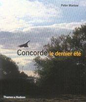 Concorde le dernier été - Intérieur - Format classique