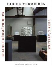 Didier Vermeiren ; solides géométriques, vues d'atelier - Couverture - Format classique