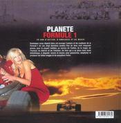 Planete Formule 1, 20 Ans D'Action, D'Ambiance - 4ème de couverture - Format classique