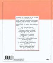 Marie Curie Et Le Radium - 4ème de couverture - Format classique