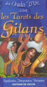 Oracles Dve (Les) : Les Tarots Gitans - Intérieur - Format classique