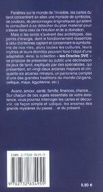 Oracles Dve (Les) : Les Tarots Gitans - 4ème de couverture - Format classique