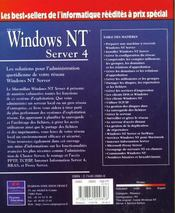 Le Macmillan Nt4 Server Selection Campus - 4ème de couverture - Format classique