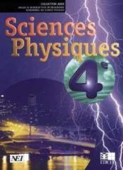 Sciences Physiques Arex 4e (Cote D'Ivoire) - Couverture - Format classique