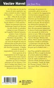 Vaclav Havel -La Force Des San - 4ème de couverture - Format classique