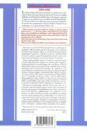 Béraud - 4ème de couverture - Format classique