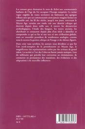 Art De La Celtique - 4ème de couverture - Format classique