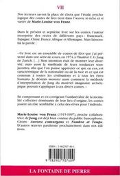 Les Modeles Archetypiques Dans Les Contes De Fees - 4ème de couverture - Format classique