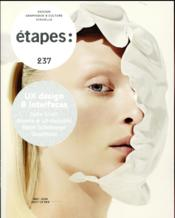 Vente  REVUE ETAPES N.237 ; UX design & interfaces  - Collectif - Revue Etapes