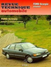 Rta 510.2 Ford Scorpio (85-94) - Couverture - Format classique