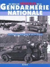Un Siecle De Vehicules De La Gendarmerie - Intérieur - Format classique