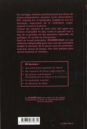 Les Dossiers Classes De La Presse Anglo-Saxonne Tome 3 - 4ème de couverture - Format classique