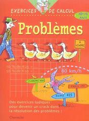 Exercices De Calcul 34. Problemes (10-12 A.) - Intérieur - Format classique