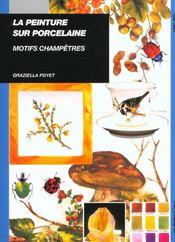 Peinture Sur Porcelaine Motifs Champetres - Intérieur - Format classique