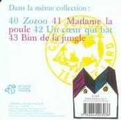 Madame la poule - 4ème de couverture - Format classique