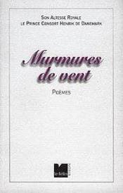 Murmures De Vent - Couverture - Format classique