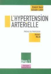 L'Hypertension Arterielle - Intérieur - Format classique