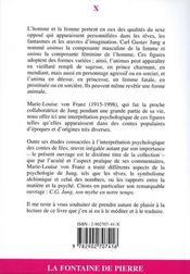 L'Animus Et L'Anima Dans Les Contes De Fees - 4ème de couverture - Format classique