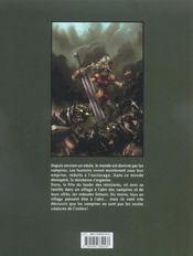 Les fugitifs de l'ombre t.1 ; le pacte d'Enkidu - 4ème de couverture - Format classique