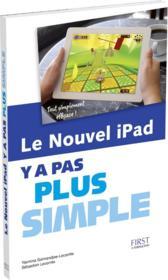 Y A PAS PLUS SIMPLE ; le nouvel iPad - Couverture - Format classique