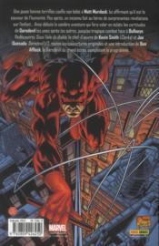 Daredevil ; sous l'aile du diable - 4ème de couverture - Format classique