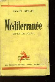 Vie D'Adrien Zograffi - Mediterranee - Lever Du Soleil - Couverture - Format classique