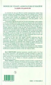 Monde Du Vivant, Agriculture Et Societe : La Pepite Et Le Grain De Ble - 4ème de couverture - Format classique