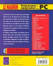 Campus Magnum Depanner Et Upgrader Son Pc - 4ème de couverture - Format classique