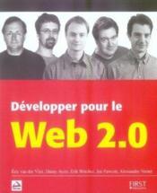 Développer pour le web 2.0 - Couverture - Format classique
