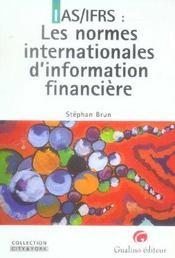 Les Normes Comptables Internationales - Intérieur - Format classique