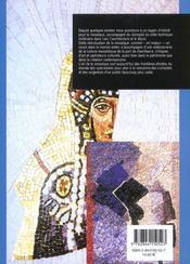 Mosaique selon la tradition de ravenne - 4ème de couverture - Format classique