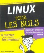 Linux pour les nuls (7e edition) - Couverture - Format classique