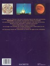 Du Cote De La Decouverte Astronomie - 4ème de couverture - Format classique