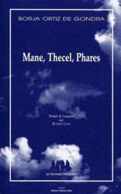 Mane, thecel, phares - Couverture - Format classique