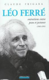 Leo Ferre - Intérieur - Format classique