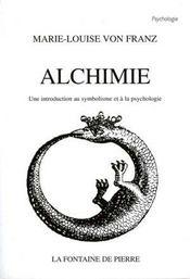 Alchimie - une introduction au symbolisme et a la psychologie - Intérieur - Format classique
