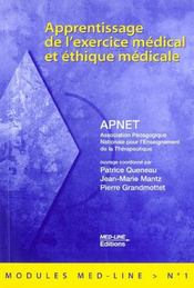 Apprentissage de l'exercice médical et éthique médicale - Intérieur - Format classique