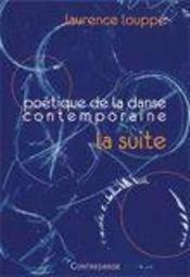 Poétique de danse contemporaine ; la suite - Intérieur - Format classique