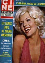 CINE REVUE - TELE-PROGRAMMES - 60E ANNEE - N° 10 - CUBA: l'amour et la haine avant que ne gronde la révolution... - Couverture - Format classique