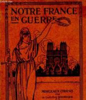 Notre France En Guerre - Couverture - Format classique