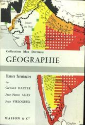 Geographie - Classes Terminales - Couverture - Format classique