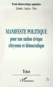Manifeste Politique Pour Une Nation Civique Citoyenne Et Democratique - Intérieur - Format classique