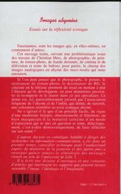 Images Abymees ; Essais Sur La Reflexivite Iconique - 4ème de couverture - Format classique