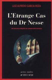 L'étrange cas du Dr Nesse - Couverture - Format classique