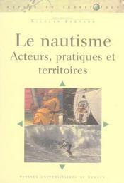 Nautisme. Acteurs Pratiques Territoires - Intérieur - Format classique