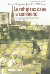 Le Religieux Dans La Commune - Couverture - Format classique