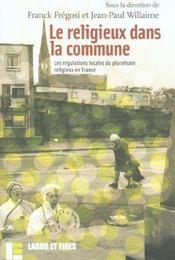 Le Religieux Dans La Commune - Intérieur - Format classique